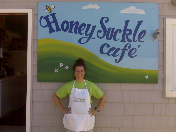 Elizabeth, owner of Honey Suckle Cafe